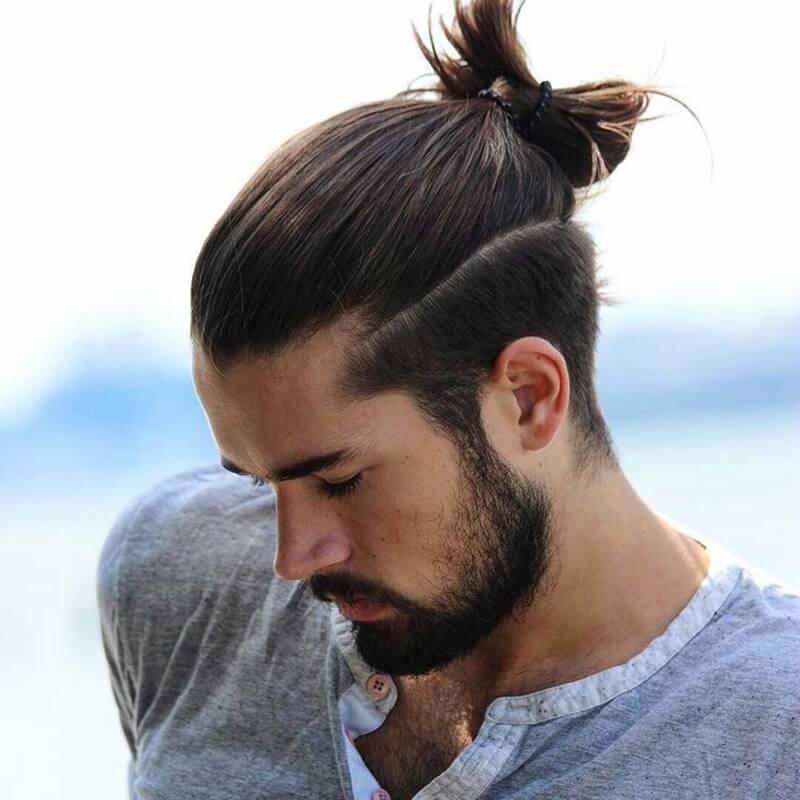 Style Man Bun (tóc buộc đuôi dành cho nam)
