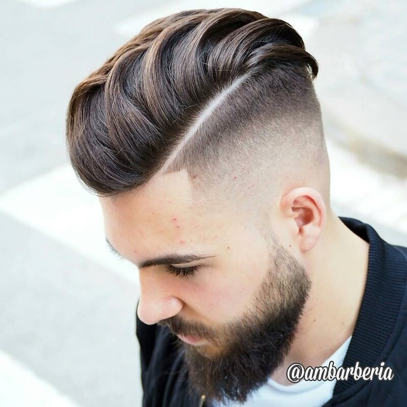 Kiểu tóc nam xoăn nhẹ