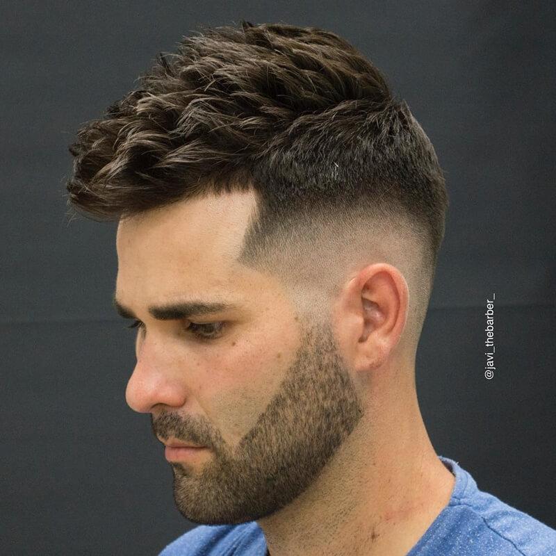 Kiểu tóc nam Textured