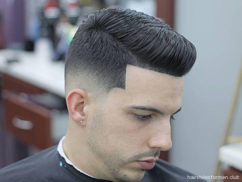 Kiểu tóc namMid Fade