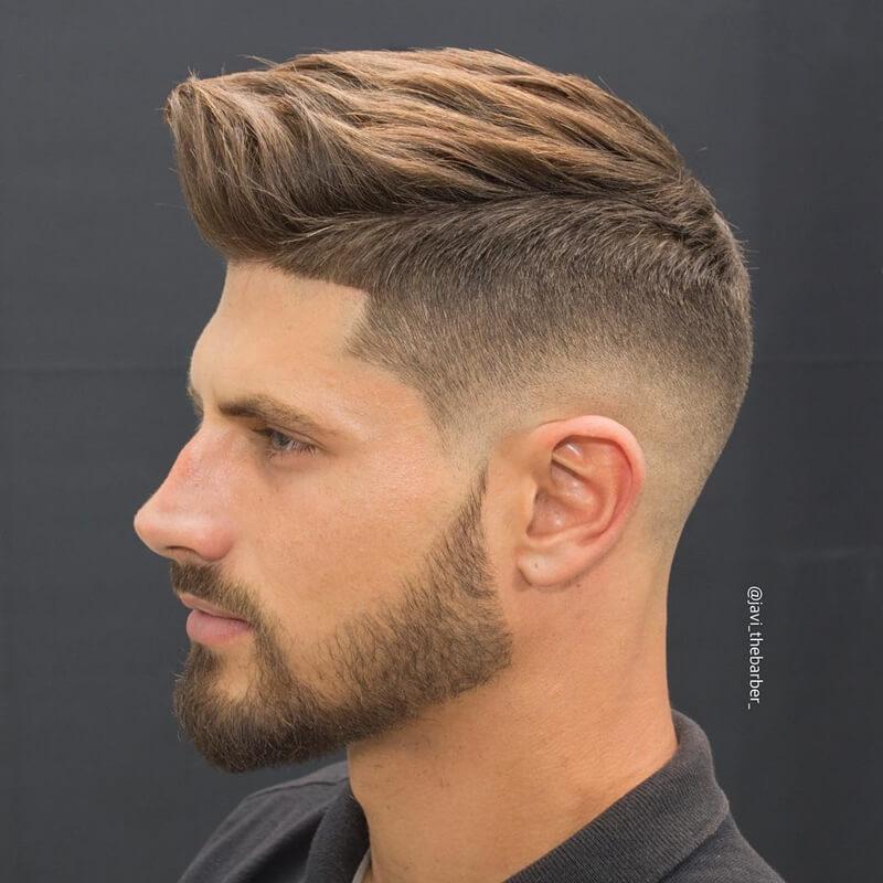 Kiểu tóc namHigh Fade + Medium Hair