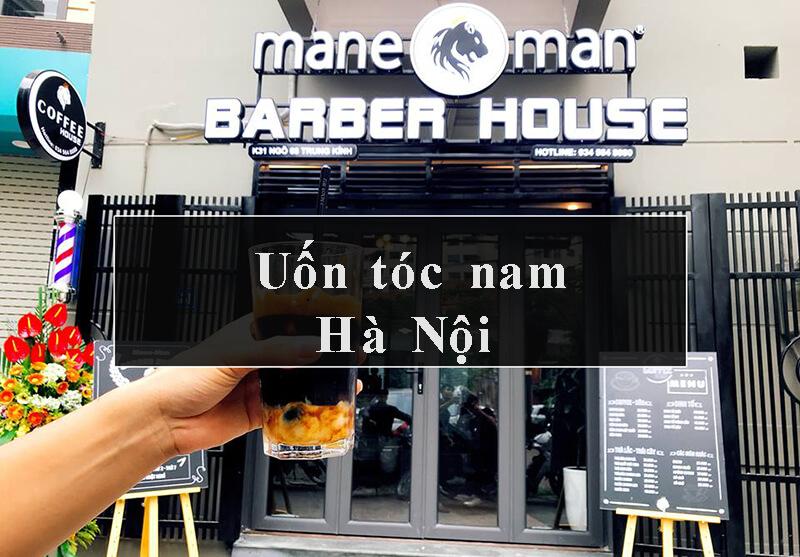 Uốn tóc nam đẹp Hà Nội
