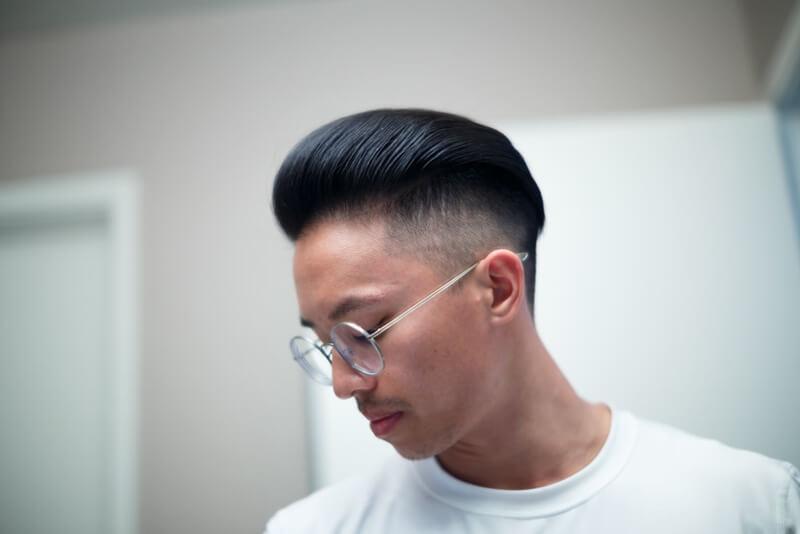 tạo kiểu tóc nam đẹp 2018 cùng wax vuốt tóc
