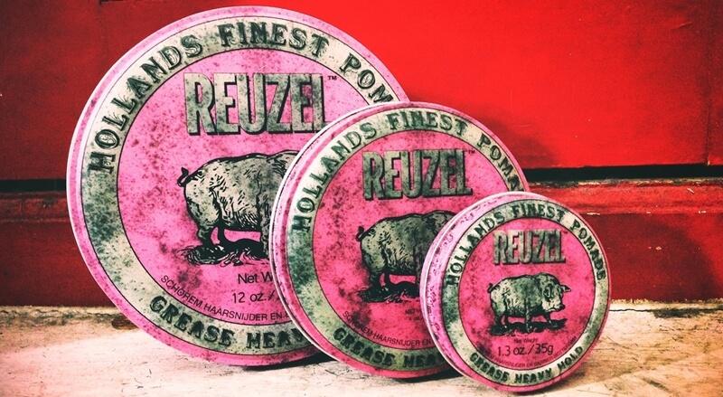 Sáp Vuốt tóc Reuzel heavy hold ( Pomade Reuzel Pink )