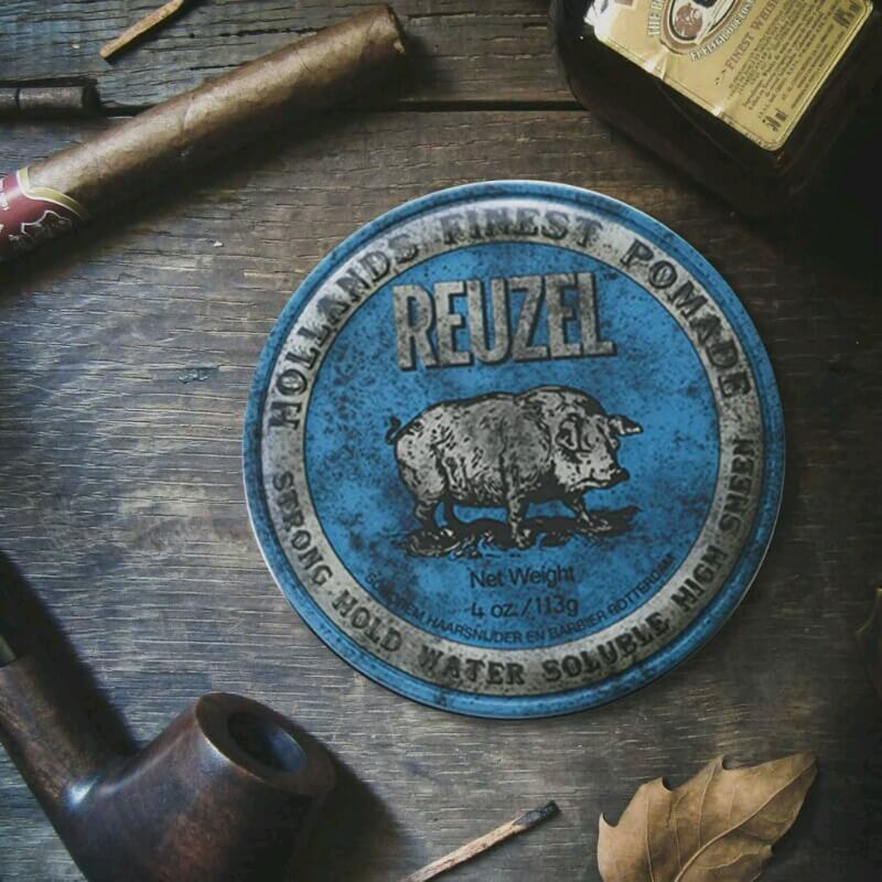 sáp vuốt tóc Reuzel strong hold hight sheen (Reuzel blue)
