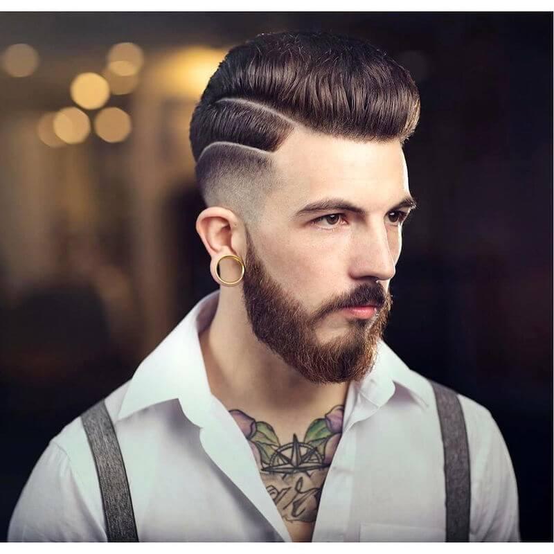 kiểu tóc nam đẹp lịch lãm 2018