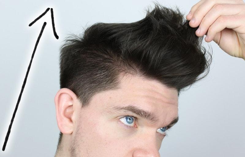 cách tăng volume cho tóc