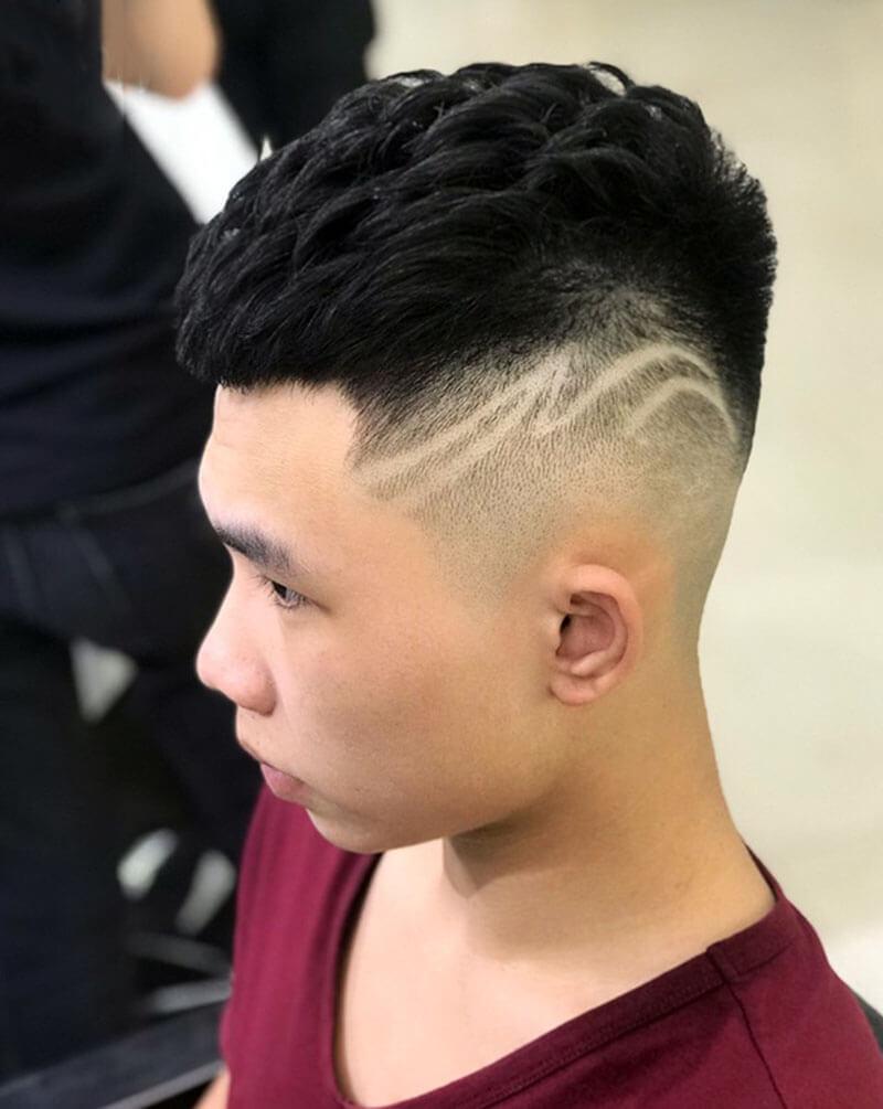 Kiểu uốn tóc nam Mohican