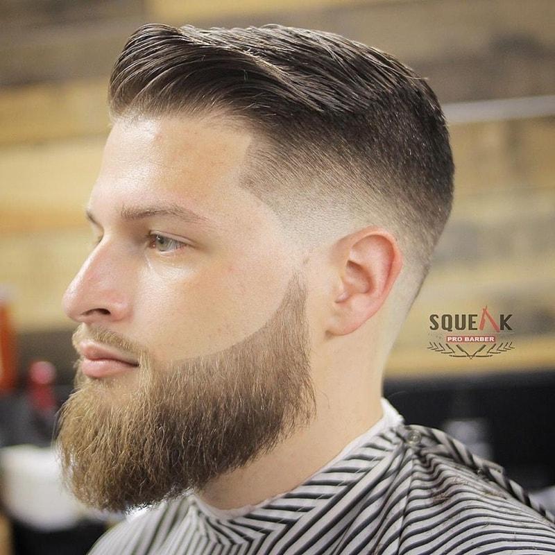 Kiểu tóc namComb Over + Fade