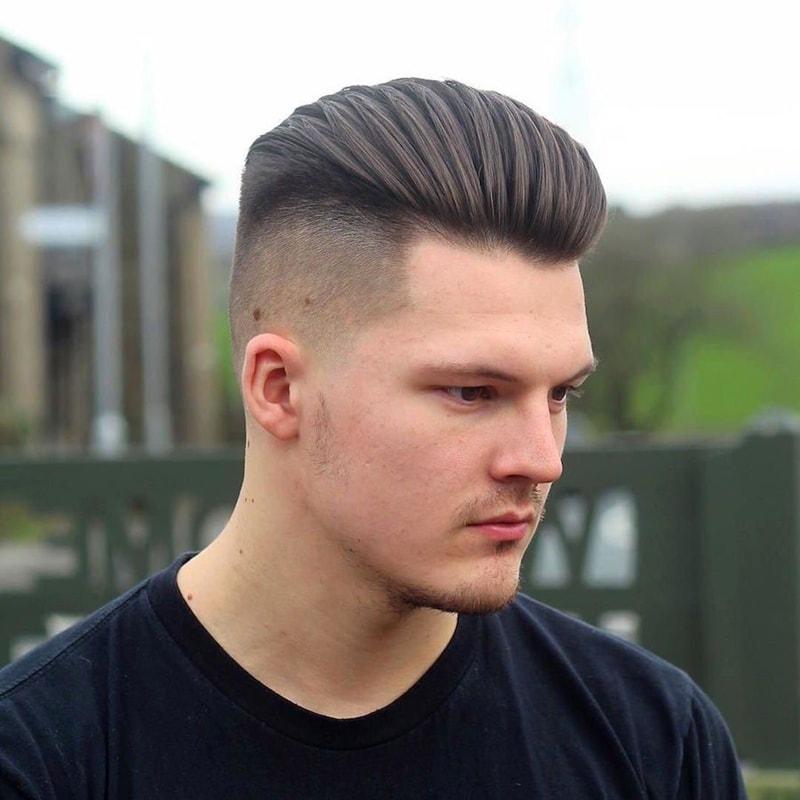 Kiểu tóc namBlown Back