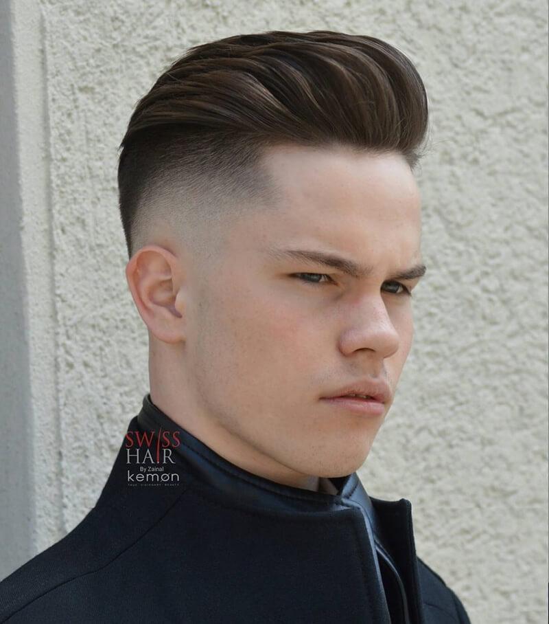 Kiểu tóc namUndercut Pompadour