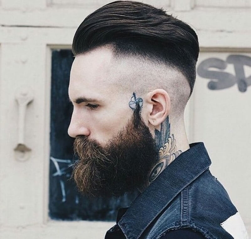 Kiểu tócUndercut + Slick Back