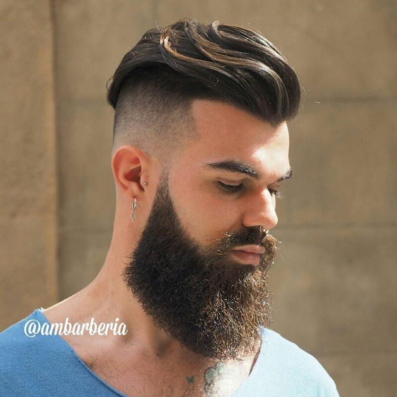 Mẫu tóc Undercut tự do