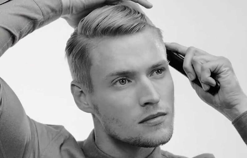 tạo kiểu tóc nam