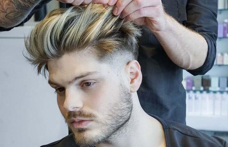 cách tạo kiểu tóc nam đẹp 2018