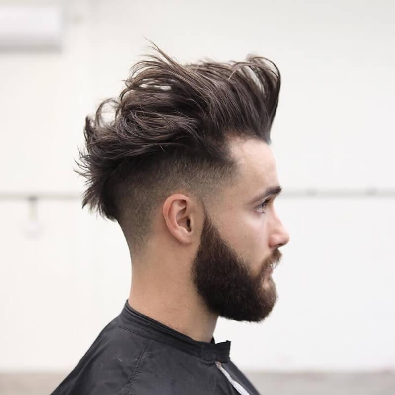 Kiểu tócDiagonal Neckline