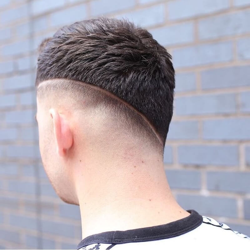 Kiểu tóc namAsymmetrical Neckline