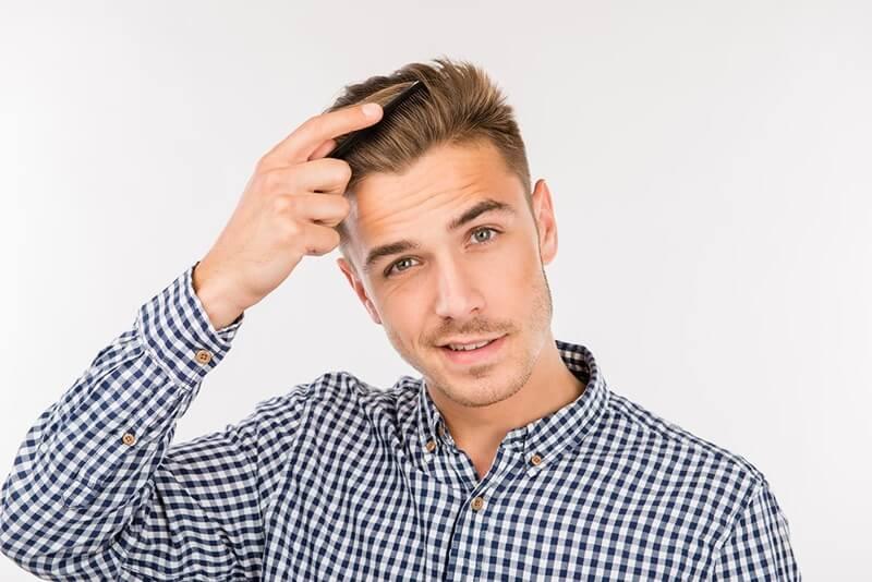 tạo kiểu tóc nam đẹp