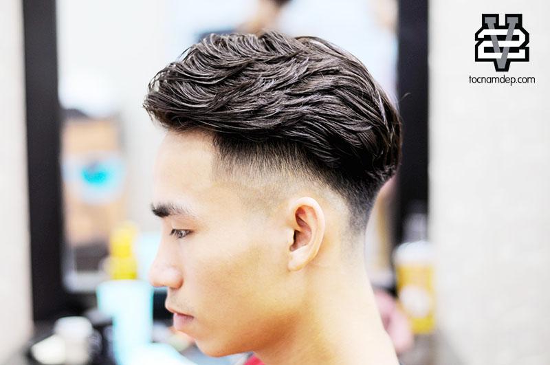 các kiểu tóc uốn nam đẹp 2018