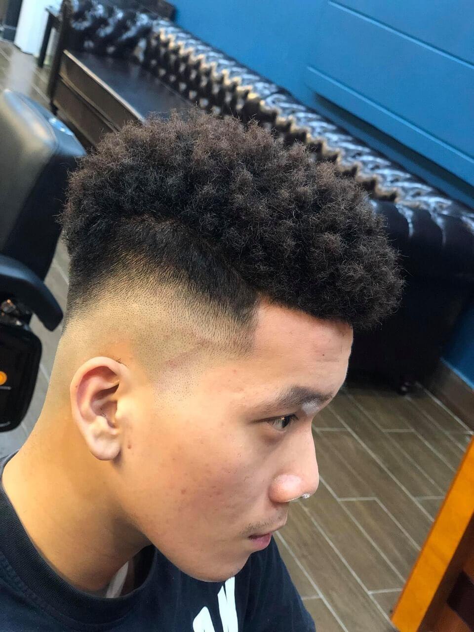 Kiểu uốn tóc nam Premlock