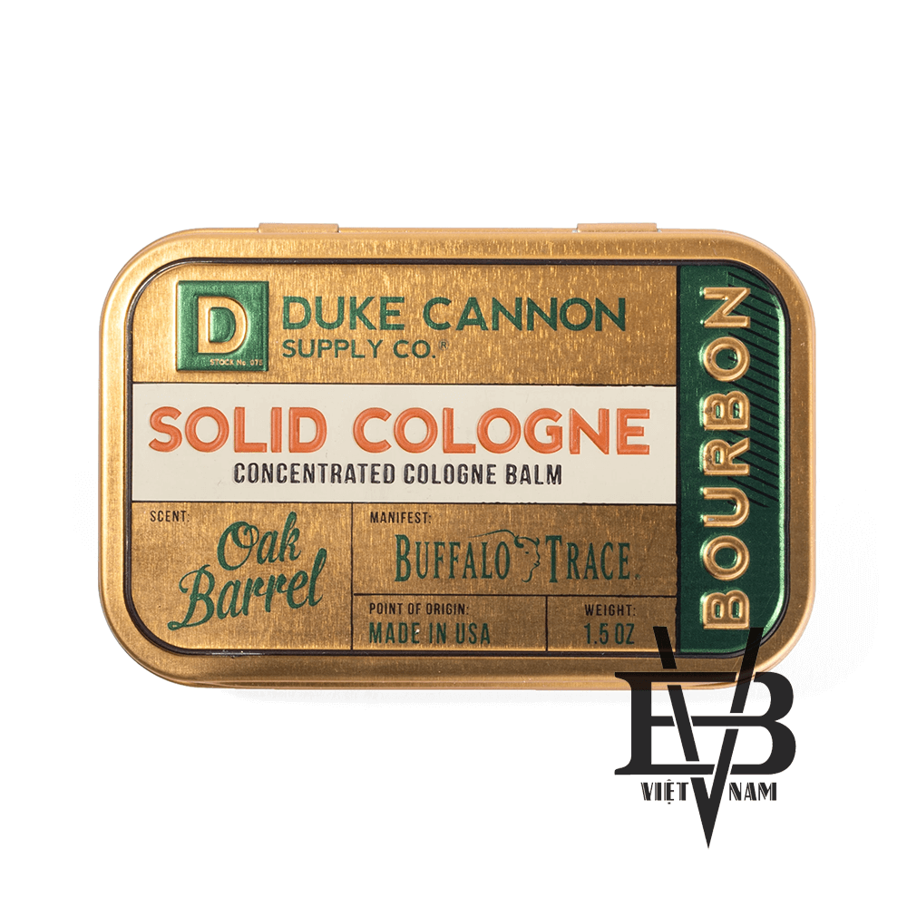 Duke Cannon Bourbon Oak Barrel