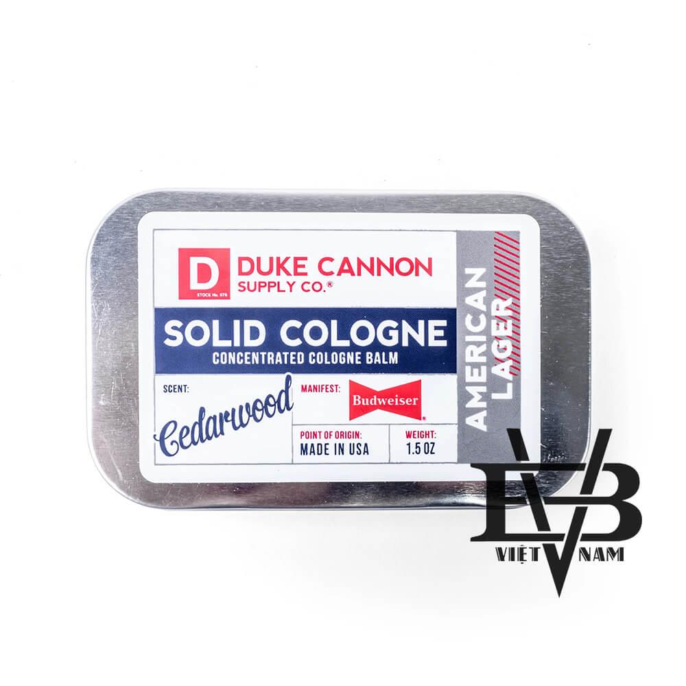 Duke Cannon AMERICAN LAGER – Cedarwood