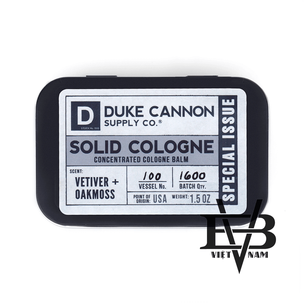 Duke Cannon Vetiver + Oakmoss