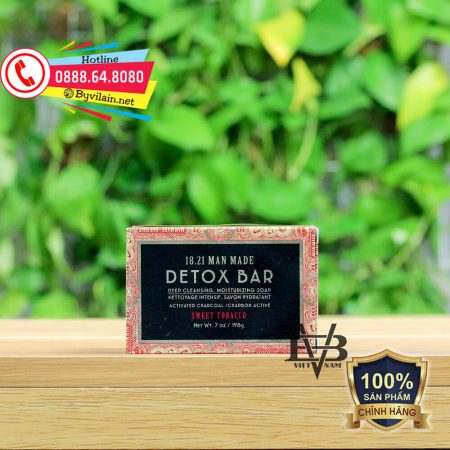18.21 Man Made Detox Bar Soap