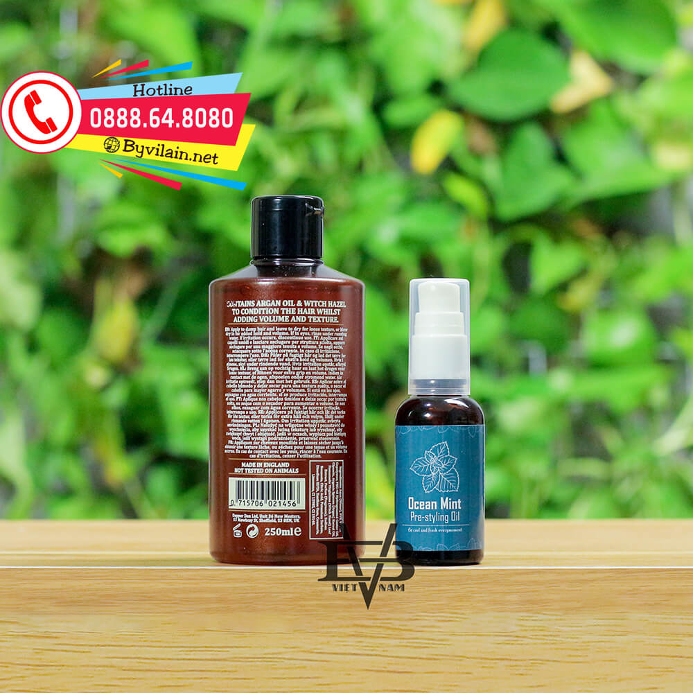 Dapper Dan Grooming Tonic pre-styling oil