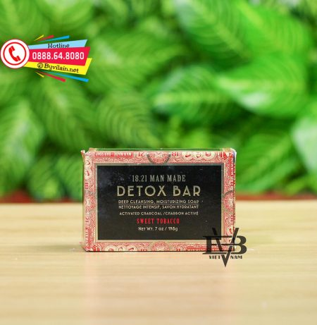18.21 Man Made Detox Bar Soap
